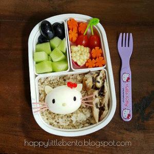 幼稚園のお弁当づくり