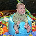 赤ちゃんがバンボに座れるようになったら気を付けたいこと